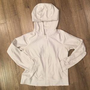 LuLulemon White Zip up Jacket